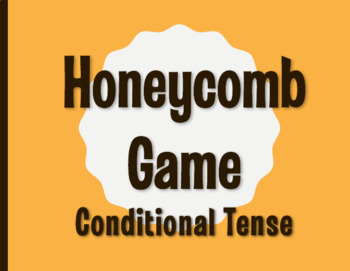 Spanish Conditional Tense Honeycomb Partner Game