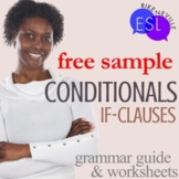 FREE:  Conditionals:  Grammar Guide