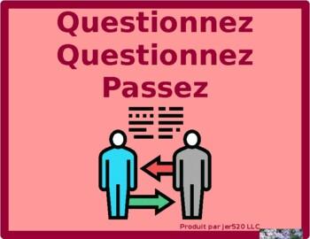 Conditionnel of Irregular verbs Question Question Pass activity