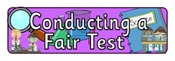 Conducting a Fair Test Banner