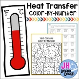 Heat - Conduction Convection Radiation - Color-By-Number
