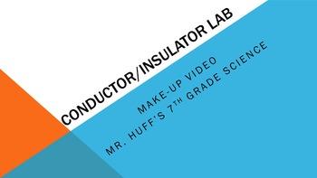 Conductor Insulator Lab - Video