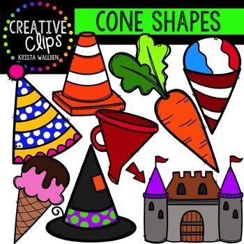 Cones {Creative Clips Digital Clipart}