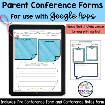 Conference Forms Google Edition