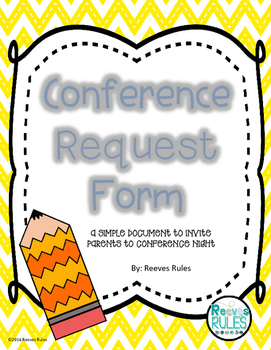 Conference Night Parent Request Form