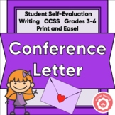 Conference Letter: Student to Parent