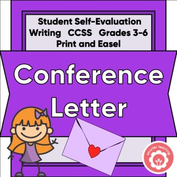 Friendly Conference Letter: Student Written To Parents
