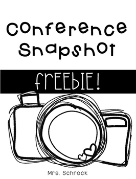 Conference Snapshot Form