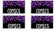 Confetti Genre Library Labels