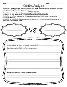 Conflict Analysis Worksheet