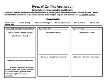 Conflict Application