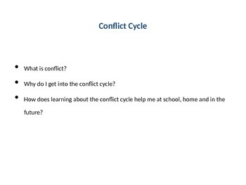 Conflict Cycle PowerPoint