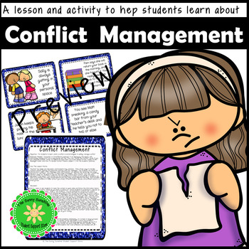Conflict Management Lesson Plan and PowerPoint