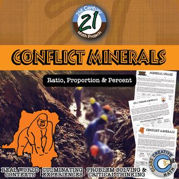 Conflict Minerals -- International Infographic Percent Cha