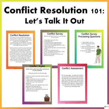 Conflict Resolution 101