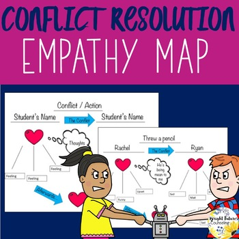Conflict Resolution Feelings Map