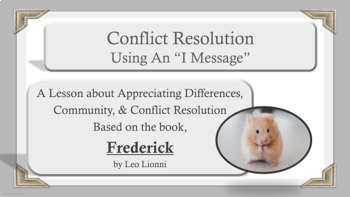 """Frederick"" lesson Self-Esteem Conflict Resolution Communi"
