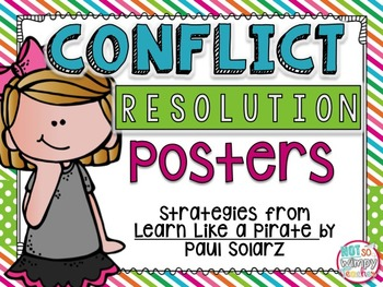 Conflict Resolution Posters
