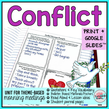 Morning Meeting Conflict Theme