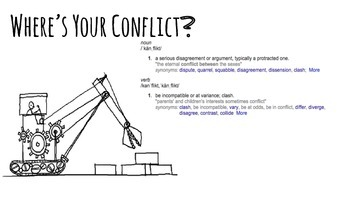 Conflict Writing Prompt Lesson