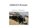 Conflict in Israel - Presentation, Activator, Graphic Orga
