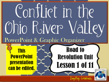Conflict in the Ohio River Valley PowerPoint and Graphic O