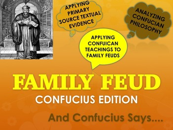 Confucius & The 5 Relationships: Family Feud Edition with