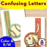 Confusing Letters:  Help for reading and writing