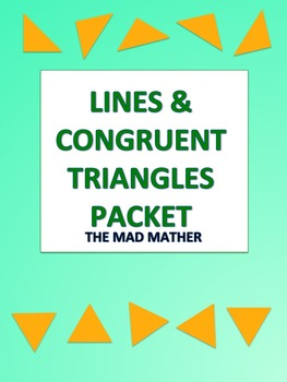 Congruent Triangles Packet - Geometry