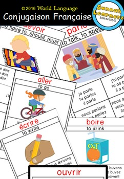 Conjugaison Française (Sunnah Learners World Language)