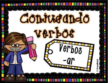 Conjugando verbos -ar