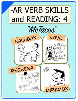 Conjugate Spanish -AR Verbs: Step-by-Step Verb Skills With