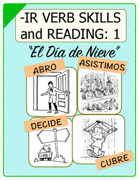 Conjugate Spanish -IR Verbs: Step-by-Step Verb Skills With
