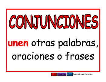 Conjunciones rojo
