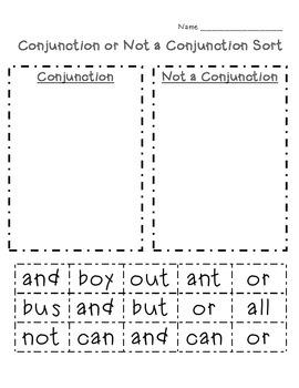 Conjunction Sort