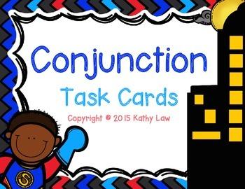 Conjunction Task Cards