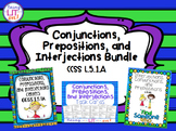 Conjunctions, Prepositions, and Interjections Bundle