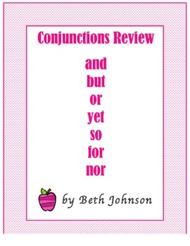 Conjunctions Review