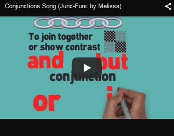 Conjunctions Video & Activities Bundle