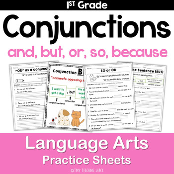Conjunctions (and, but, so, or, for) Common Core Practice