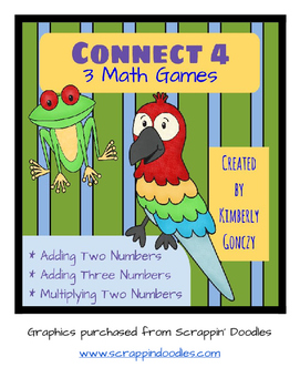 Connect 4 Math Games