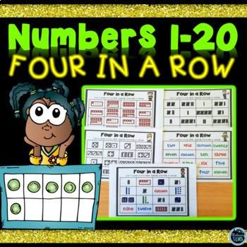 Number Sense Game Numbers 1-20