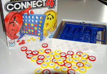 Connect 4-Sight words!