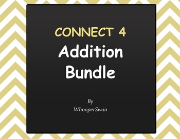 Connect 4 in row - Addition Bundle