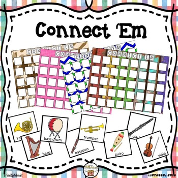 Connect 'Em (Orchestra Instruments Review Game)