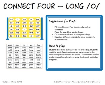 Connect Four - Long O