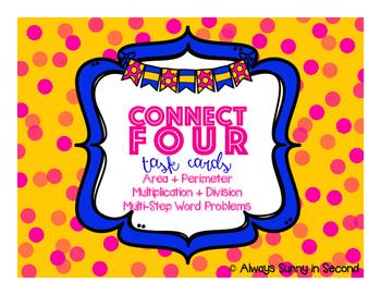 Connect Four Task Cards Bundle