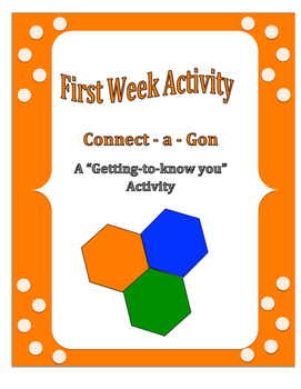 First Week of School: Connect - a - Gon
