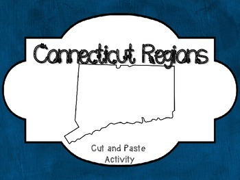 Connecticut Regions cut and paste activity