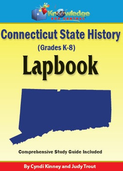 Connecticut State History Lapbook